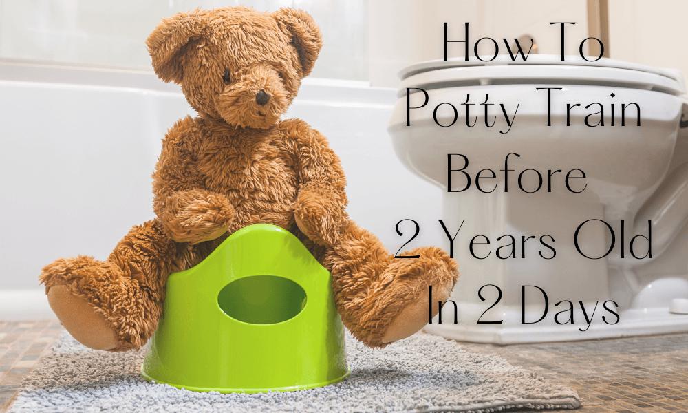How I Potty Trained My Kids In 2 Days